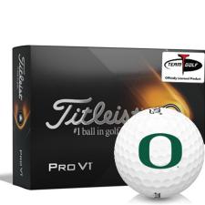 Titleist 2021 Pro V1 Oregon Ducks Golf Balls