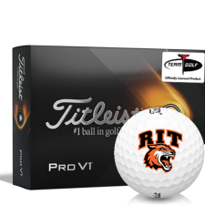 Titleist 2021 Pro V1 RIT - Rochester Institute of Technology Tigers Golf Balls