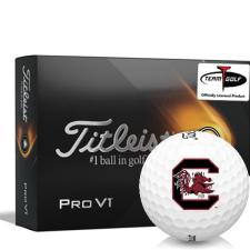 Titleist 2021 Pro V1 South Carolina Fighting Gamecocks Golf Balls