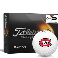 Titleist 2021 Pro V1 St. Cloud State Huskies Golf Balls
