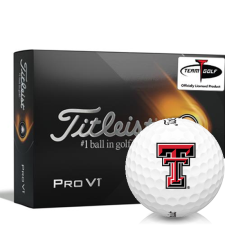 Titleist 2021 Pro V1 Texas Tech Red Raiders Golf Balls