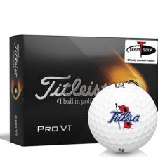 Titleist 2021 Pro V1 Tulsa Golden Hurricane Golf Balls