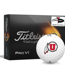Titleist 2021 Pro V1 Utah Utes Golf Balls