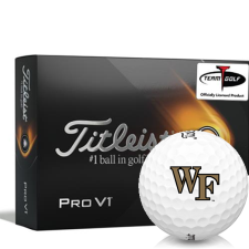 Titleist 2021 Pro V1 Wake Forest Demon Deacons Golf Balls