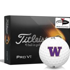 Titleist 2021 Pro V1 Washington Huskies Golf Balls