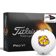 Titleist 2021 Pro V1 Western Illinois Leathernecks Golf Balls