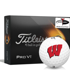 Titleist 2021 Pro V1 Wisconsin Badgers Golf Balls