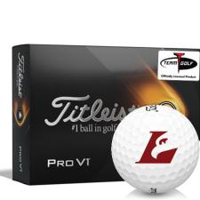 Titleist 2021 Pro V1 Wisconsin La Crosse Eagles Golf Balls