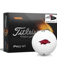 Titleist 2021 Pro V1 High Number Arkansas Razorbacks Golf Balls