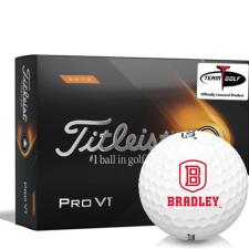Titleist 2021 Pro V1 High Number Bradley Braves Golf Balls