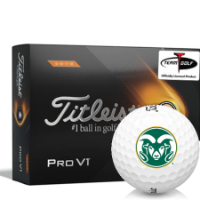 Titleist 2021 Pro V1 High Number Colorado State Rams Golf Balls