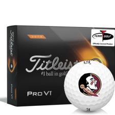 Titleist 2021 Pro V1 High Number Florida State Seminoles Golf Balls