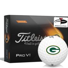 Titleist 2021 Pro V1 High Number Green Bay Packers Golf Balls