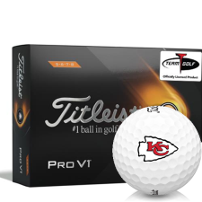 Titleist 2021 Pro V1 High Number Kansas City Chiefs Golf Balls