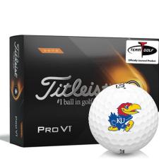 Titleist 2021 Pro V1 High Number Kansas Jayhawks Golf Balls