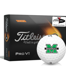 Titleist 2021 Pro V1 High Number Marshall Thundering Herd Golf Balls