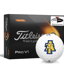Titleist 2021 Pro V1 High Number North Carolina A&T Aggies Golf Balls