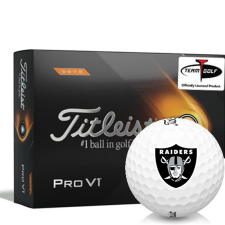 Titleist 2021 Pro V1 High Number Oakland Raiders Golf Balls