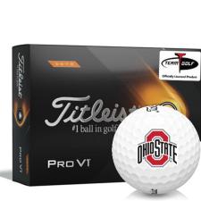 Titleist 2021 Pro V1 High Number Ohio State Buckeyes Golf Balls