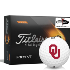 Titleist 2021 Pro V1 High Number Oklahoma Sooners Golf Balls