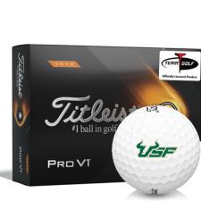Titleist 2021 Pro V1 High Number South Florida Bulls Golf Balls