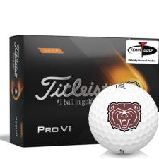 Titleist 2021 Pro V1 High Number Southwest Missouri State Bears Golf Balls