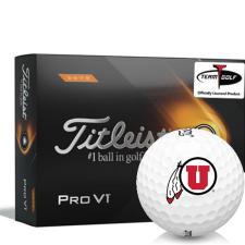 Titleist 2021 Pro V1 High Number Utah Utes Golf Balls