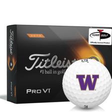 Titleist 2021 Pro V1 High Number Washington Huskies Golf Balls