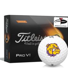 Titleist 2021 Pro V1 High Number Western Illinois Leathernecks Golf Balls