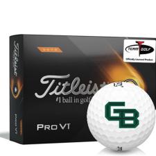 Titleist 2021 Pro V1 High Number Wisconsin Green Bay Phoenix Golf Balls