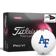 Titleist 2021 Pro V1 Pink Play & Sidestamp Air Force Falcons Golf Balls