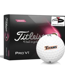 Titleist 2021 Pro V1 Pink Play & Sidestamp Cal State Fullerton Titans Golf Balls
