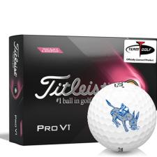 Titleist 2021 Pro V1 Pink Play & Sidestamp Colorado School of Mines Orediggers Golf Balls