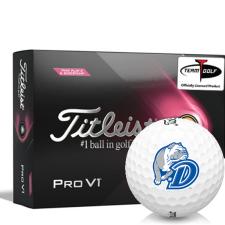 Titleist 2021 Pro V1 Pink Play & Sidestamp Drake Bulldogs Golf Balls