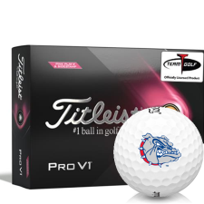 Titleist 2021 Pro V1 Pink Play & Sidestamp Gonzaga Bulldogs Golf Balls