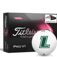 Titleist 2021 Pro V1 Pink Play & Sidestamp Loyola Maryland Greyhounds Golf Balls