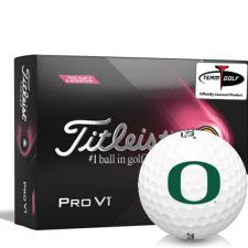 Titleist 2021 Pro V1 Pink Play & Sidestamp Oregon Ducks Golf Balls
