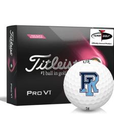 Titleist 2021 Pro V1 Pink Play & Sidestamp Rhode Island Rams Golf Balls