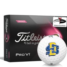Titleist 2021 Pro V1 Pink Play & Sidestamp South Dakota State Golf Balls