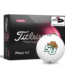 Titleist 2021 Pro V1 Pink Play & Sidestamp Stetson Hatters Golf Balls