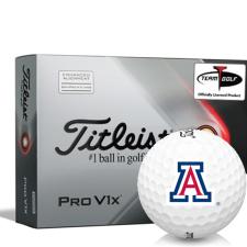 Titleist 2021 Pro V1x AIM Arizona Wildcats Golf Balls