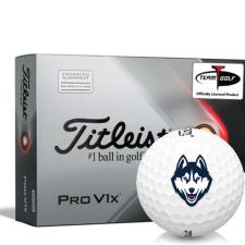 Titleist 2021 Pro V1x AIM UConn Huskies Golf Balls