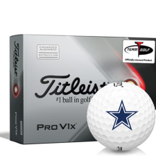 Titleist 2021 Pro V1x AIM Dallas Cowboys Golf Balls