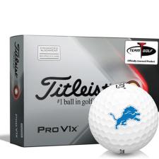 Titleist 2021 Pro V1x AIM Detroit Lions Golf Balls