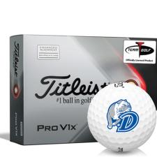 Titleist 2021 Pro V1x AIM Drake Bulldogs Golf Balls