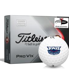 Titleist 2021 Pro V1x AIM Florida Atlantic Owls Golf Balls
