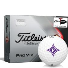 Titleist 2021 Pro V1x AIM Furman Paladins Golf Balls