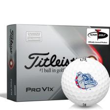Titleist 2021 Pro V1x AIM Gonzaga Bulldogs Golf Balls