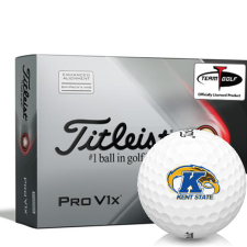 Titleist 2021 Pro V1x AIM Kent State Golden Flashes Golf Balls