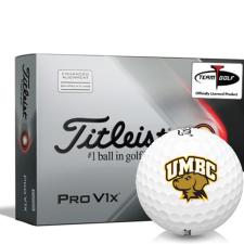 Titleist 2021 Pro V1x AIM Maryland Baltimore County Retrievers Golf Balls